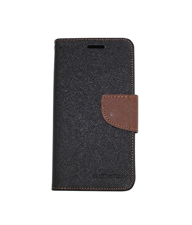 Steel Plus Flip Cover For LG G3 Mini - Brown