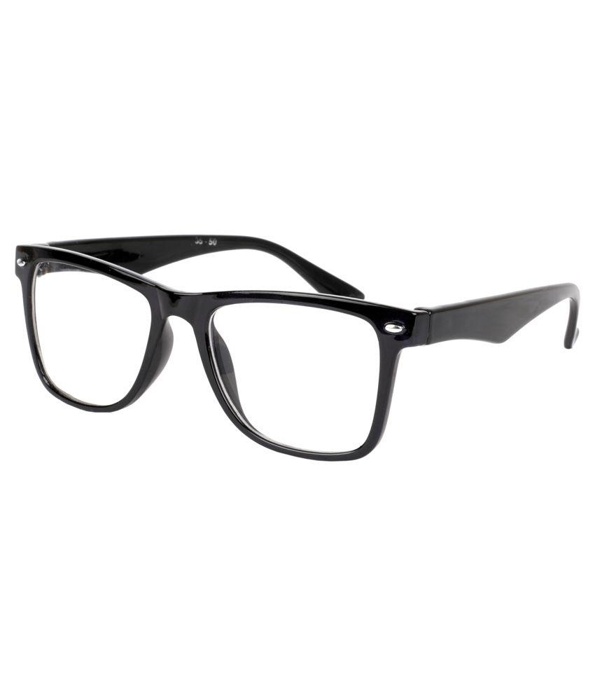 Aoito Unbreakable Smart Black Wayfarer Frame