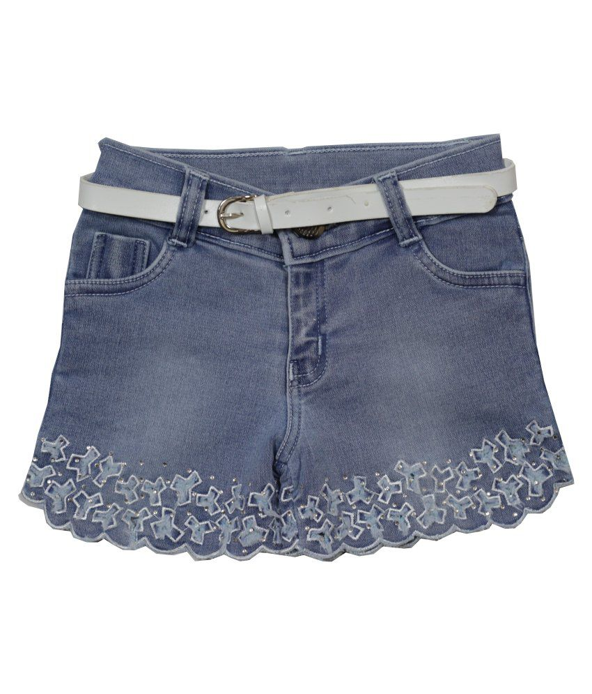 Little Flores Blue Shorts