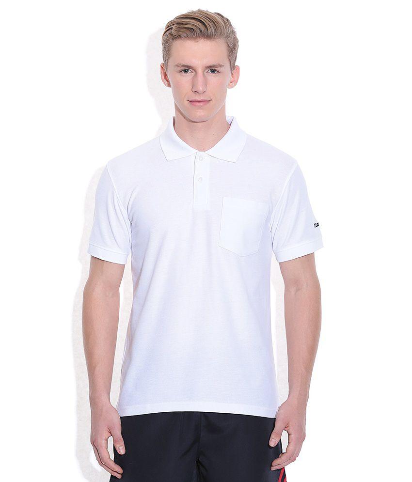 Lotto White Polo T-Shirt