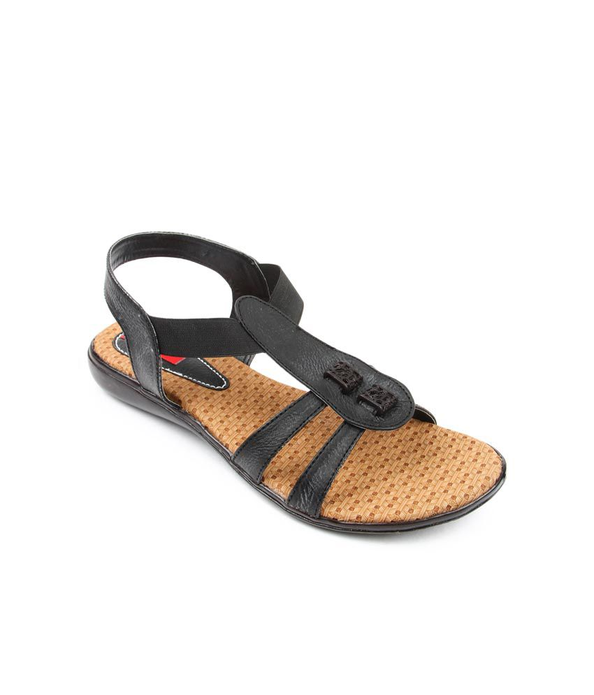Finesse Black Sandal