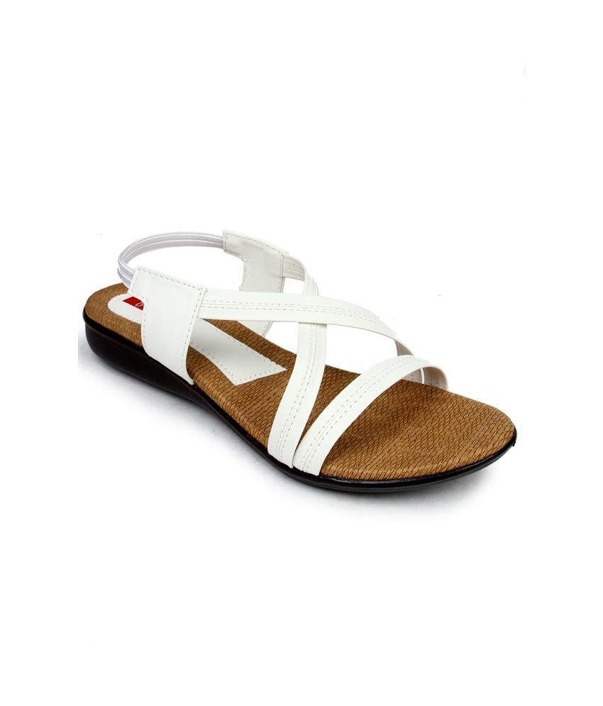 Finesse White Sandal