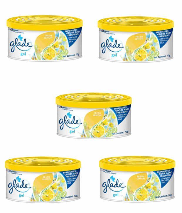 SC Johnson Glade Gel Air Freshener (Pack of 5)