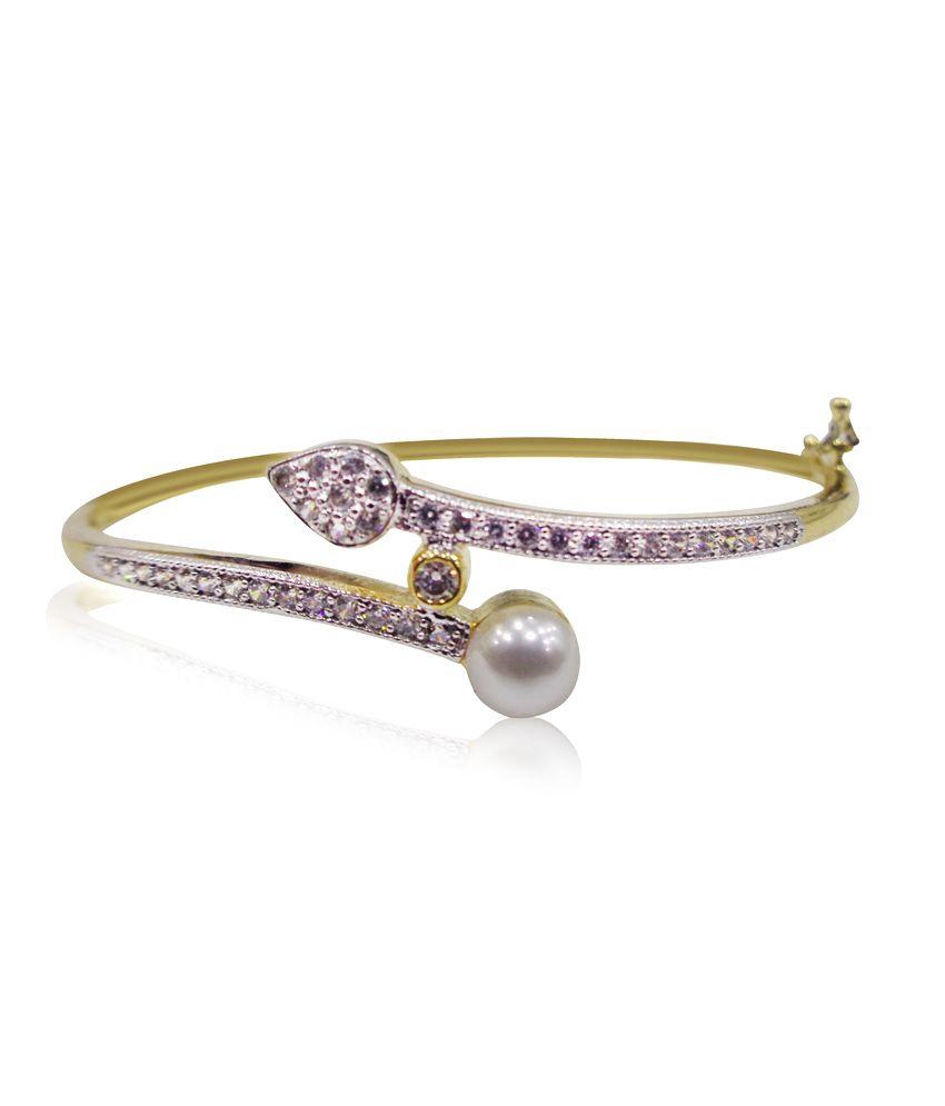 Anant Trading Golden Bracelet