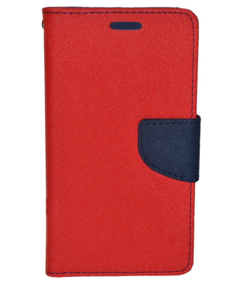 Shine Flip Cover Samsung Galaxy A5 - Red