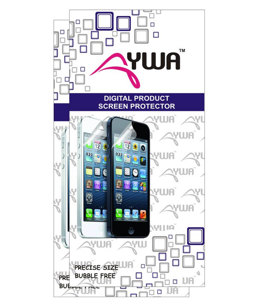 Micromax Canvas 4 Plus A315 Clear Screen Guard by AYWA