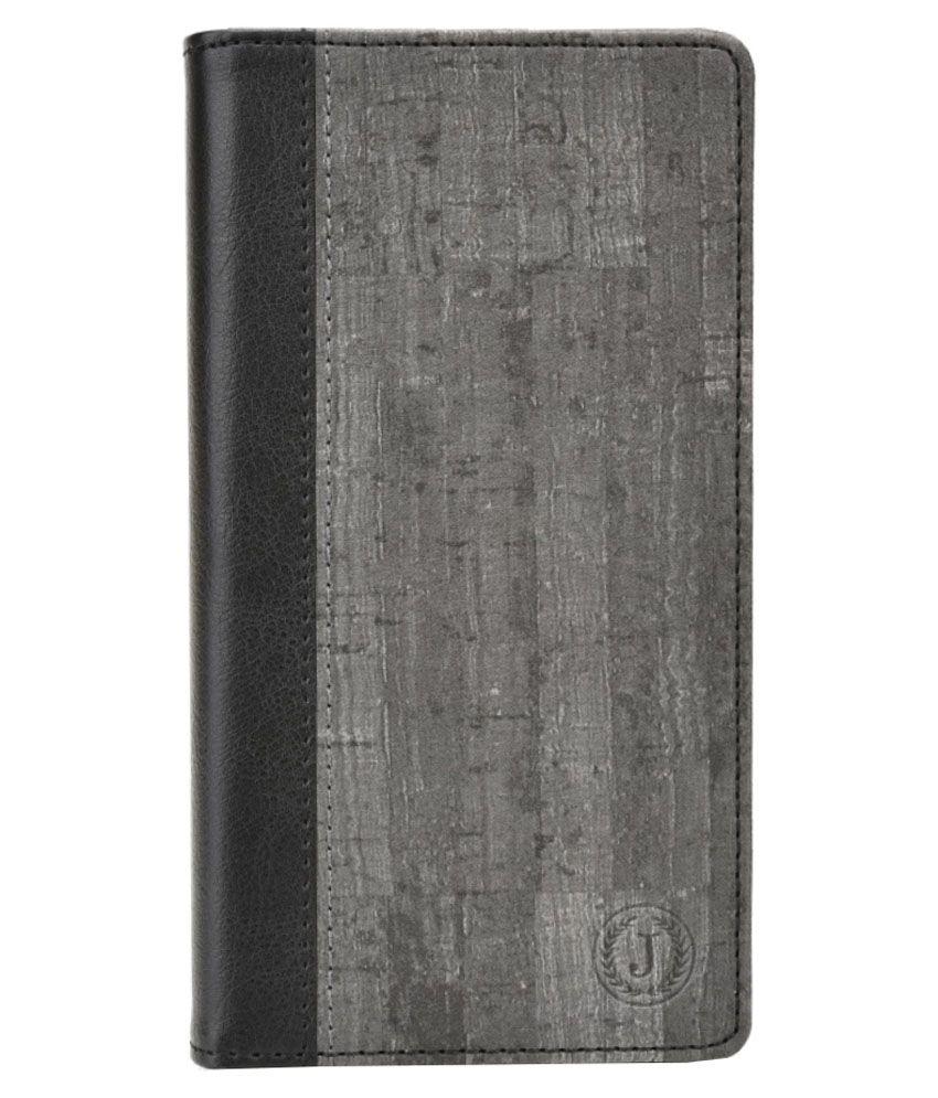 Jo Jo Flip Cover For Sony Xperia E4-Black