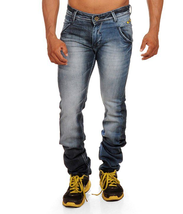 Reco Blue Slim Fit Jeans