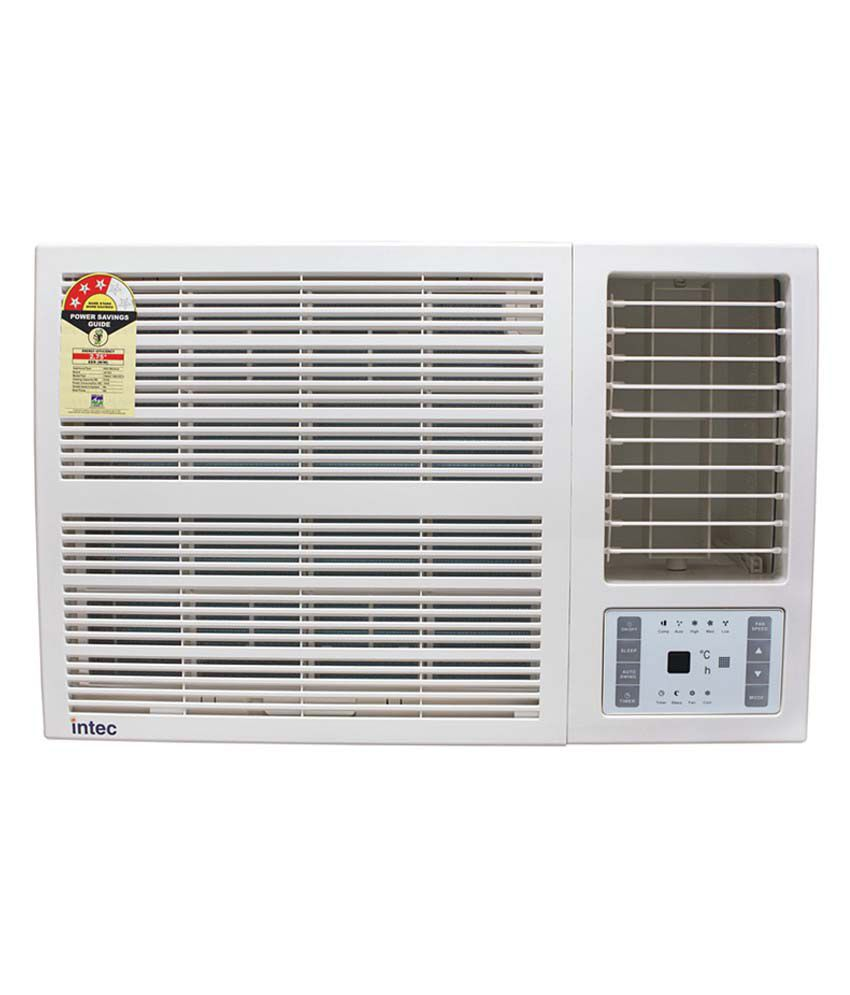 intec 1 5 ton 3 star twac 18k white window air conditioner price in rh snapdeal com