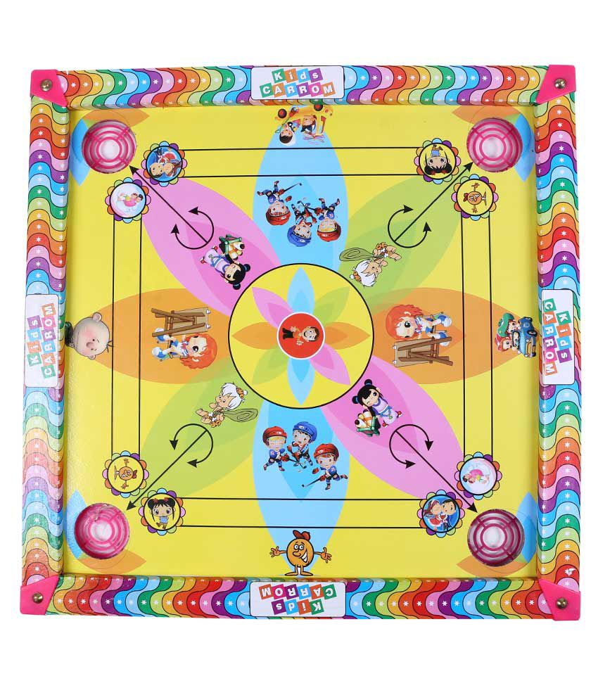 Daksh Enterprises Plastic Carrom Board