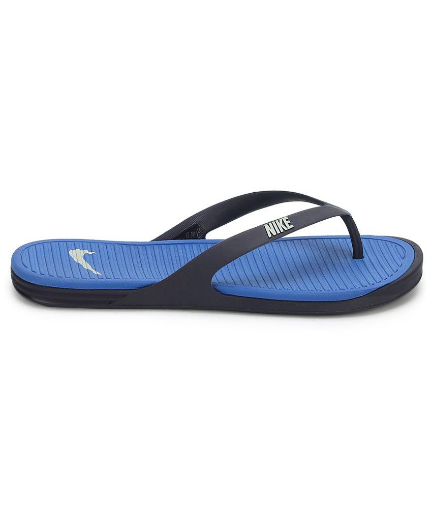 e45ecae00ad Nike Matira Thong Midnight Blue Flip Flops Price in India- Buy Nike ...
