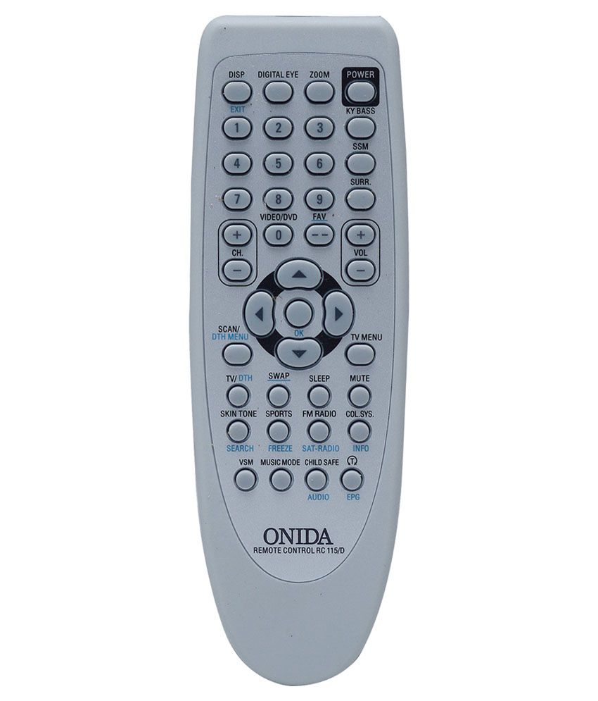 No Credit Check Credit Cards >> Buy Onida TV Remote Online at Best Price in India - Snapdeal