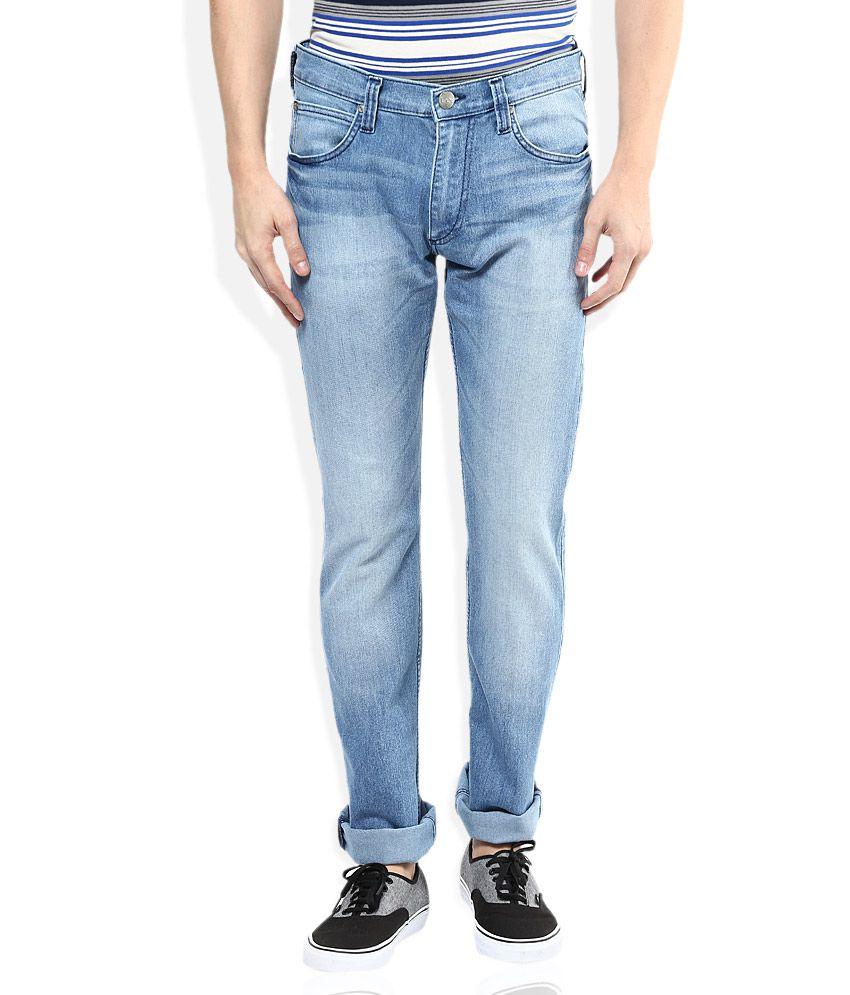 Lee Blue Slim Fit Jeans