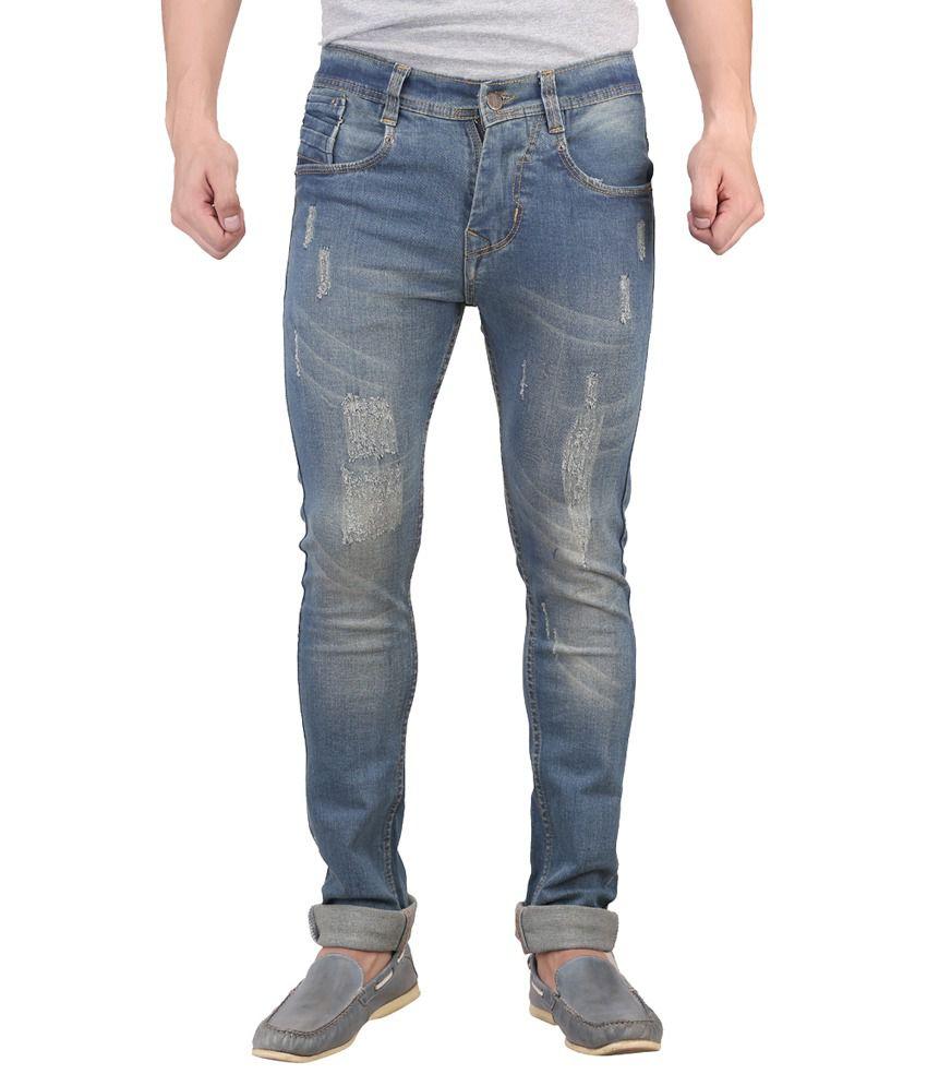 X-Cross Blue Regular Fit Jeans