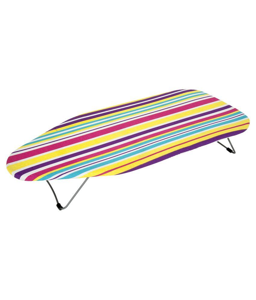 Eurostar Multicolour Ironing Board/Iron Table