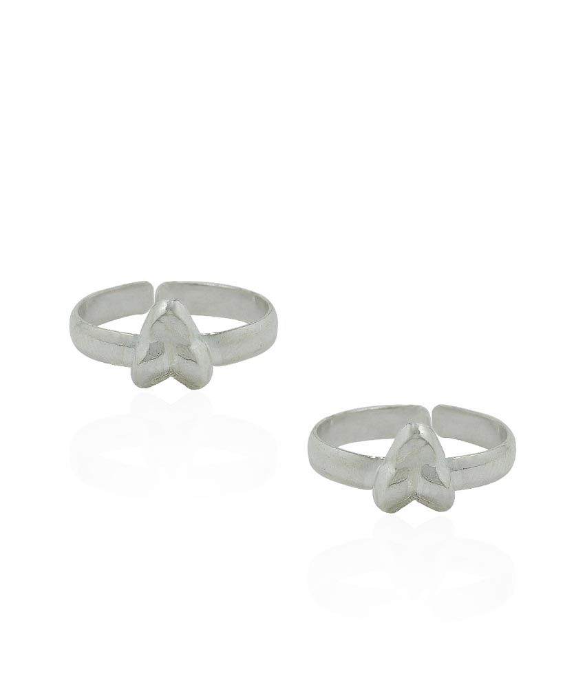Pehchan Silver Daily Wear Toe-ring