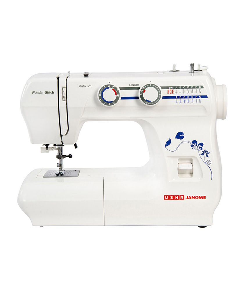 Usha Janome Wonder Stitch Automatic Sewing Machine available at SnapDeal for Rs.10500