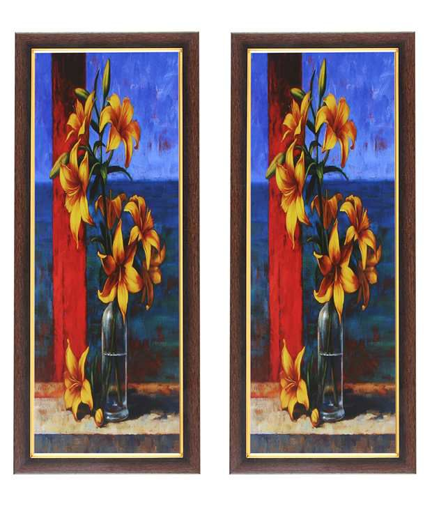 Wens Yellow Flower Painting (Buy 1 Get 1)