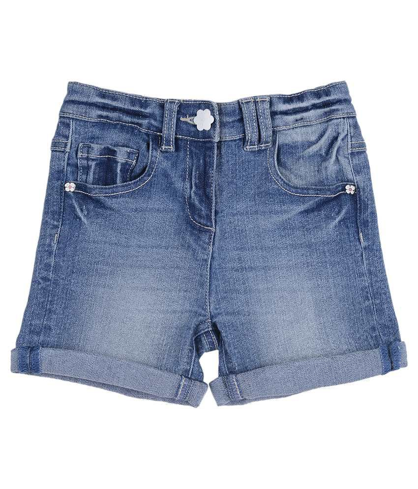 Nauti Nati Blue Denim Shorts