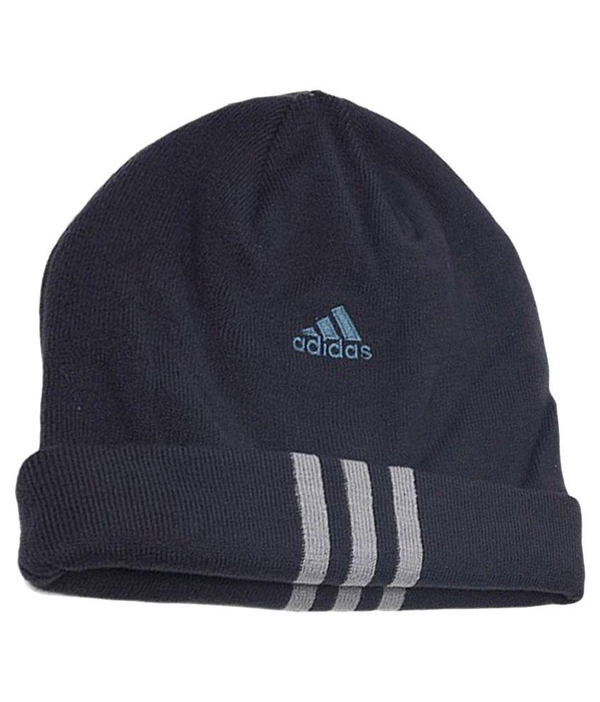 8396fa4ed15 Adidas Navy Woollen Winter Cap - Buy Online   Rs.