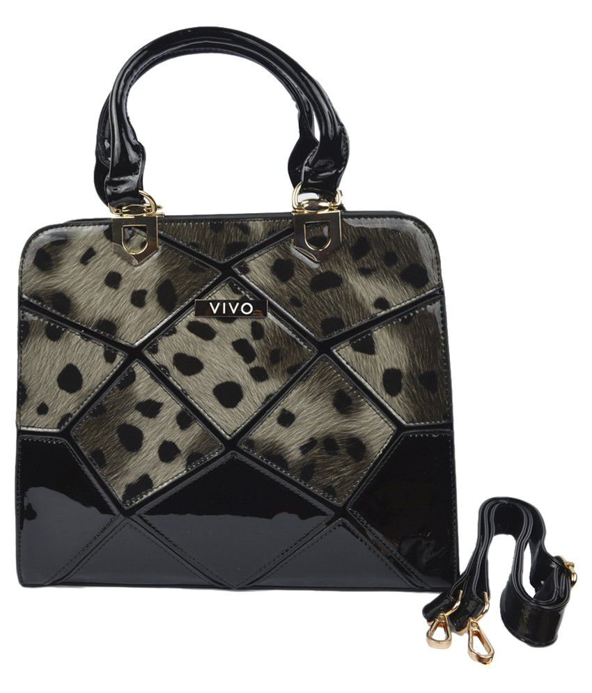 Viva Black Shoulder Bag