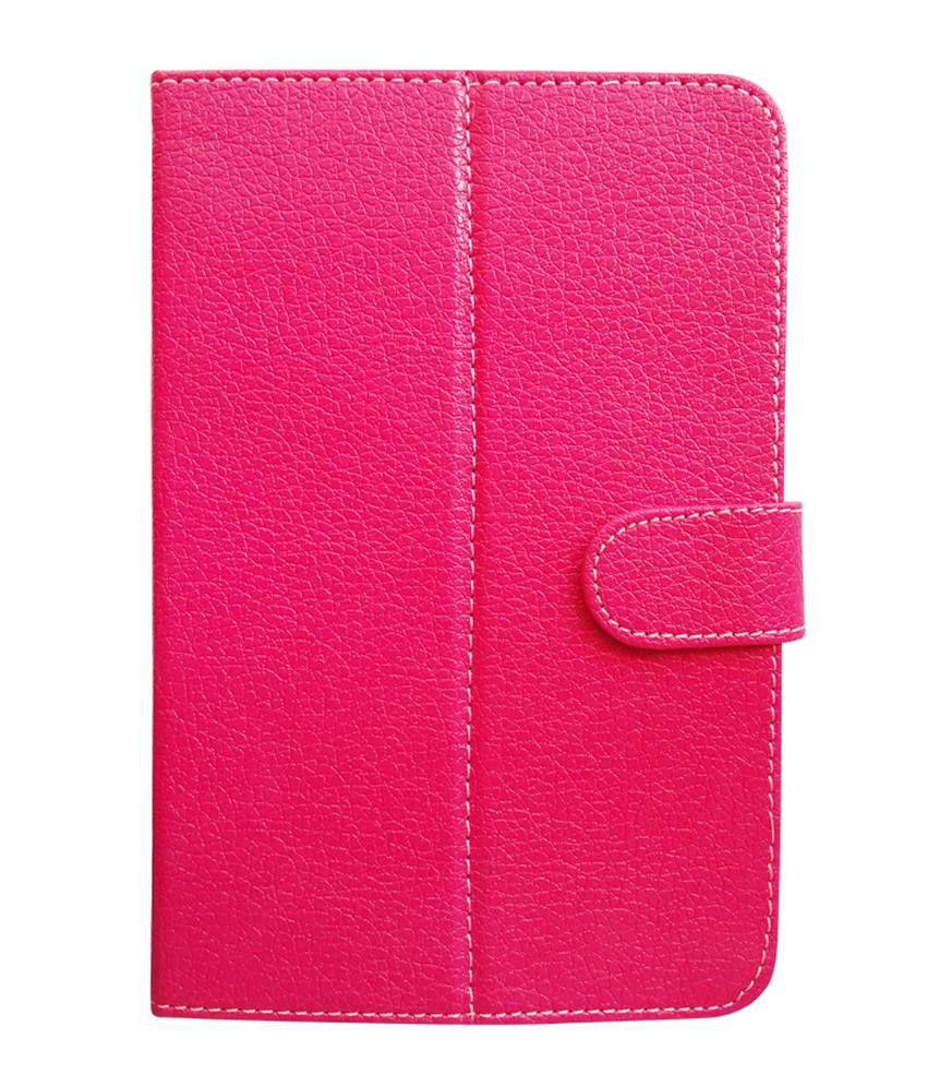 Fastway Flip Cover For HCL Me Tablet U1 -Pink