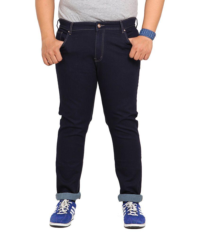 John Pride Black Regular Fit Jeans