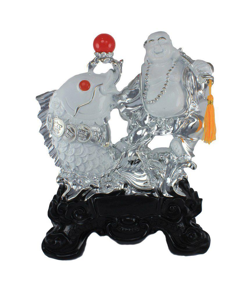 Ray-Pro Matte Resin Buddha Showpiece