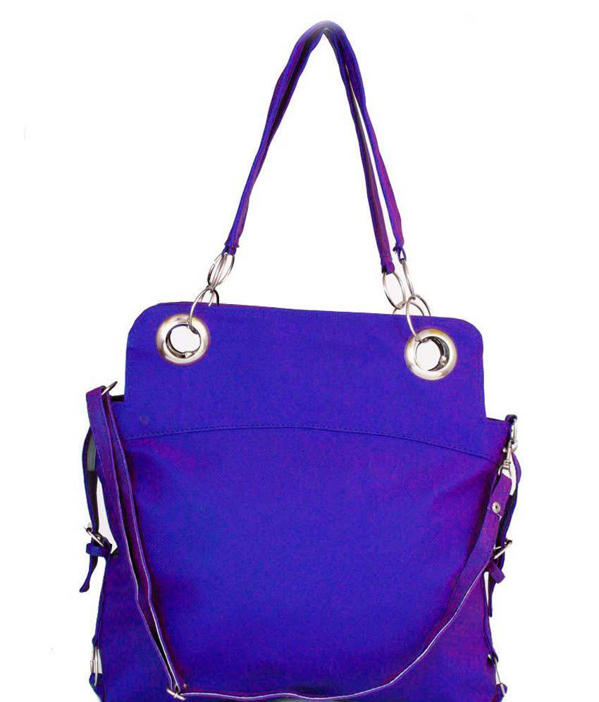 Taur Navy Blue Shoulder Bag