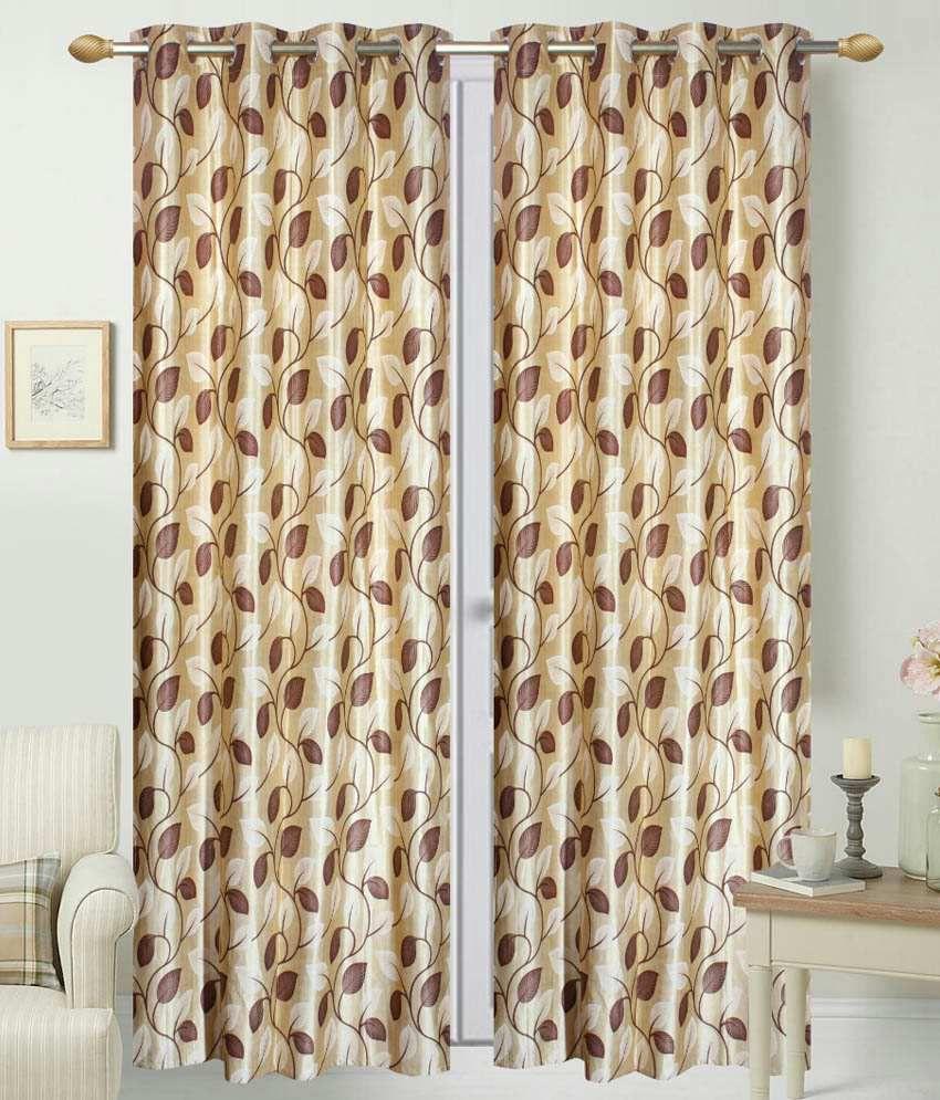 idecor single long door eyelet curtain buy idecor single