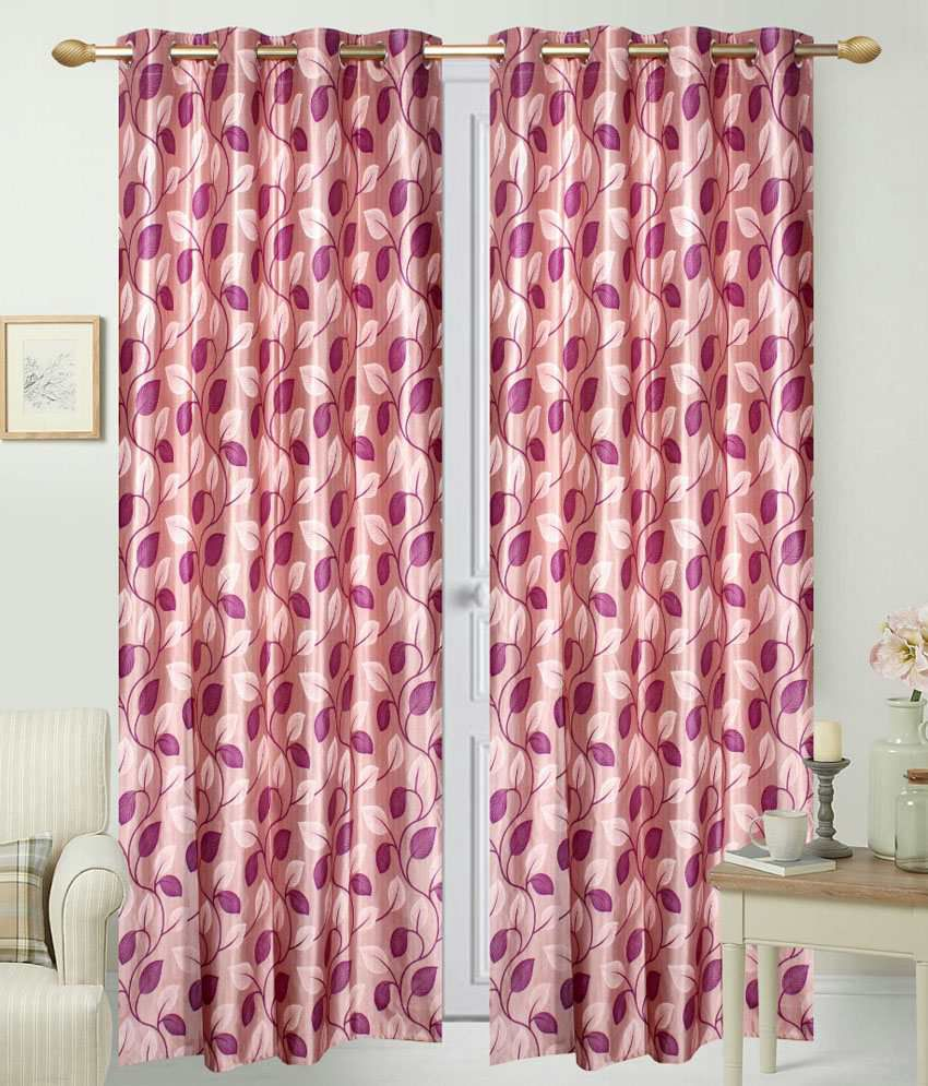 idecor set of 4 door eyelet curtains buy idecor set of 4