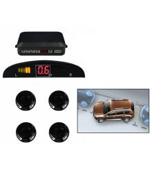 Spedy Black Car Parking Sensor Led Display For Hyundai I10 New