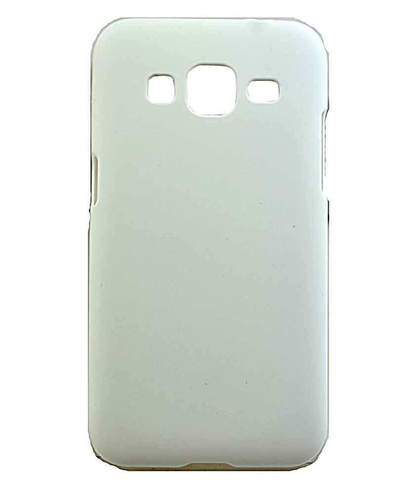 meet ab579 34ea0 Coskart Back Cover For Samsung Galaxy Core Prime G360h - White