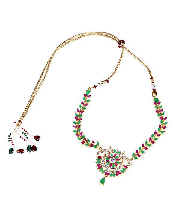 Makezak Multicolor Casual Hit Necklace Set