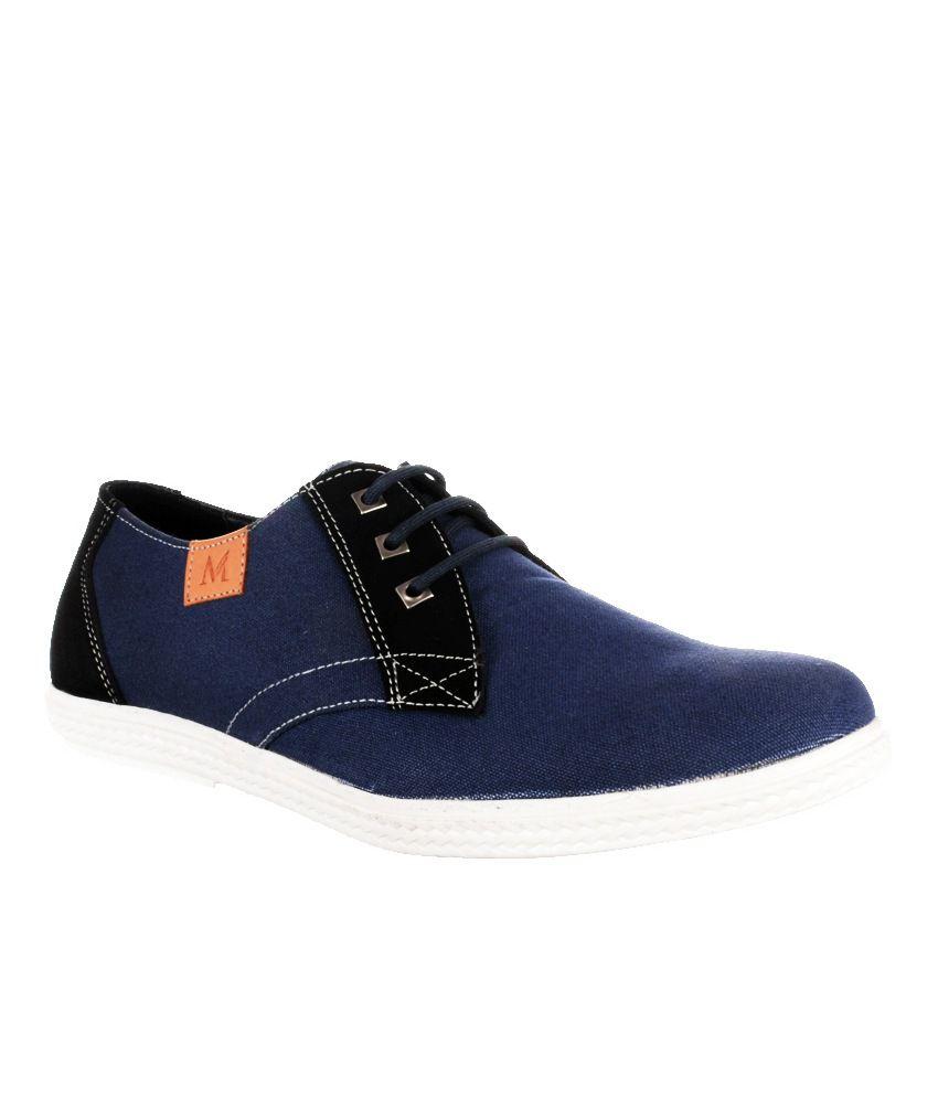 moladz blue canvas lace casual shoes buy moladz blue