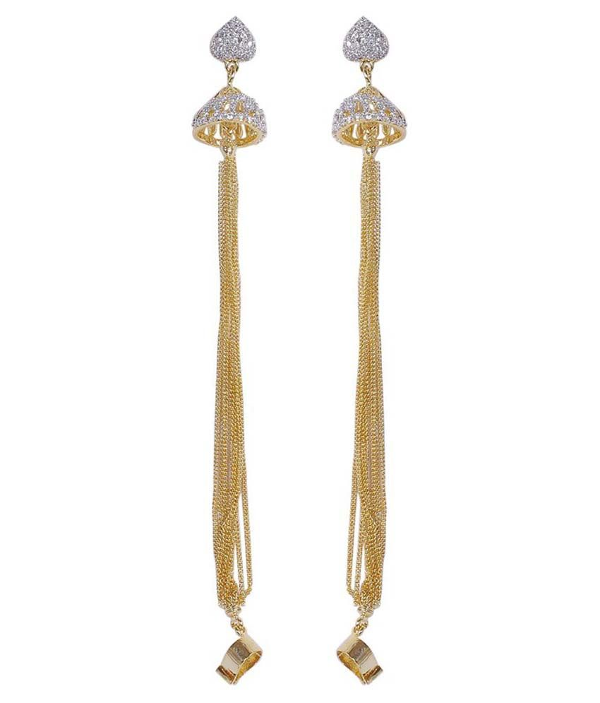 Much More Indian Bollywood Style Gold Plated Jhumki Design ...