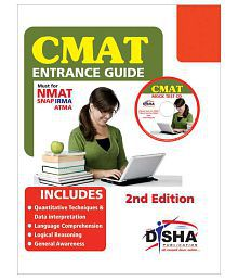 CMAT Entrance Guide with 5 Mock Test CD (must for NMAT/ SNAP/ ATMA/ IRMA) Paperback (English) 2nd Edition