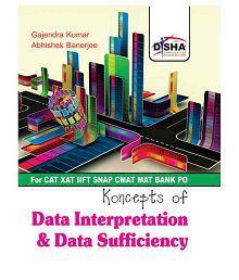 Data Interpretation & Data Sufficiency for CAT/ XAT/ IIFT/ CMAT/ MAT/ Bank PO/ SSC Paperback (English)