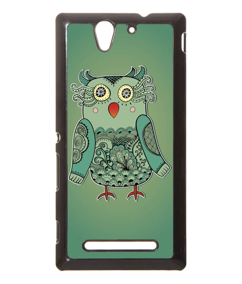 Dressmyphone Back Cover For Sony Xperia C3 And Xperia C3 Dual - Multicolour