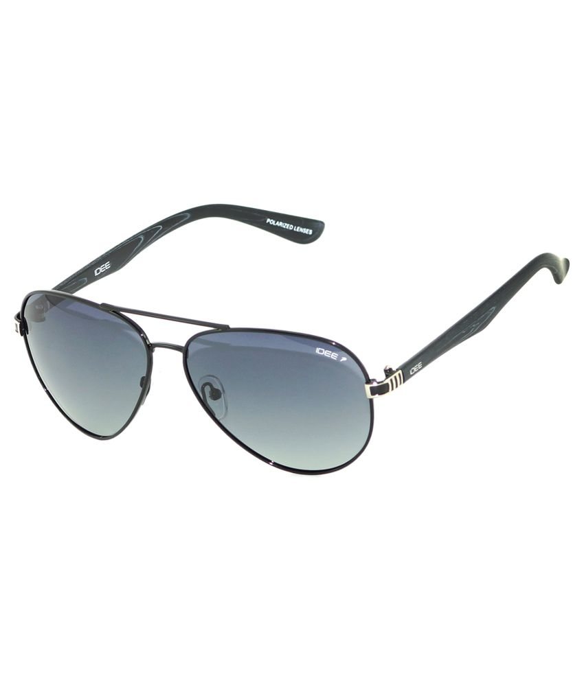 c7a495156 Idee Black Frame Aviator Sunglasses - Buy Idee Black Frame Aviator Sunglasses  Online at Low Price - Snapdeal