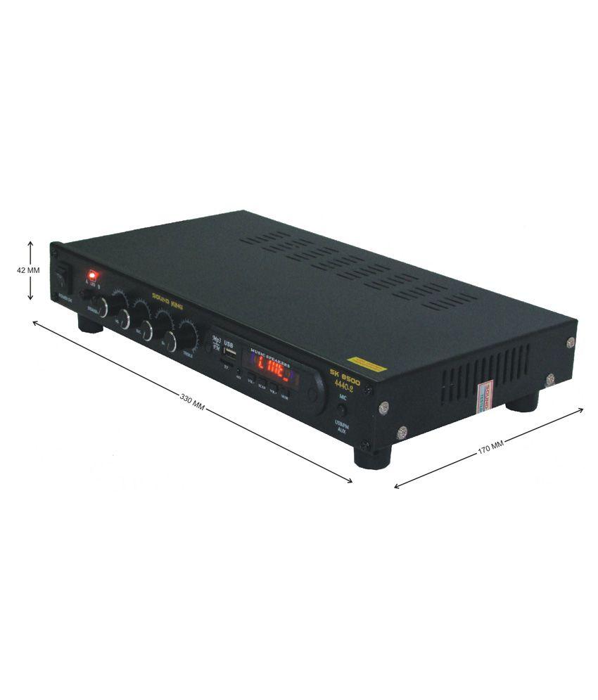 Buy Sound King Sk8500 Karaoke 4ch Amplifier Online At Best Price In Electronic Harmonium Circuit Diagram
