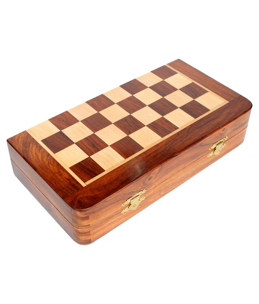 Craft Store India Wooden Magnetic Chess Board