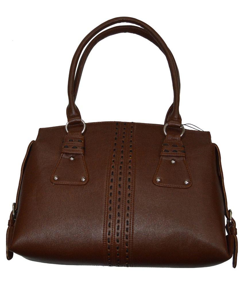 Knott Tan Shoulder Bag