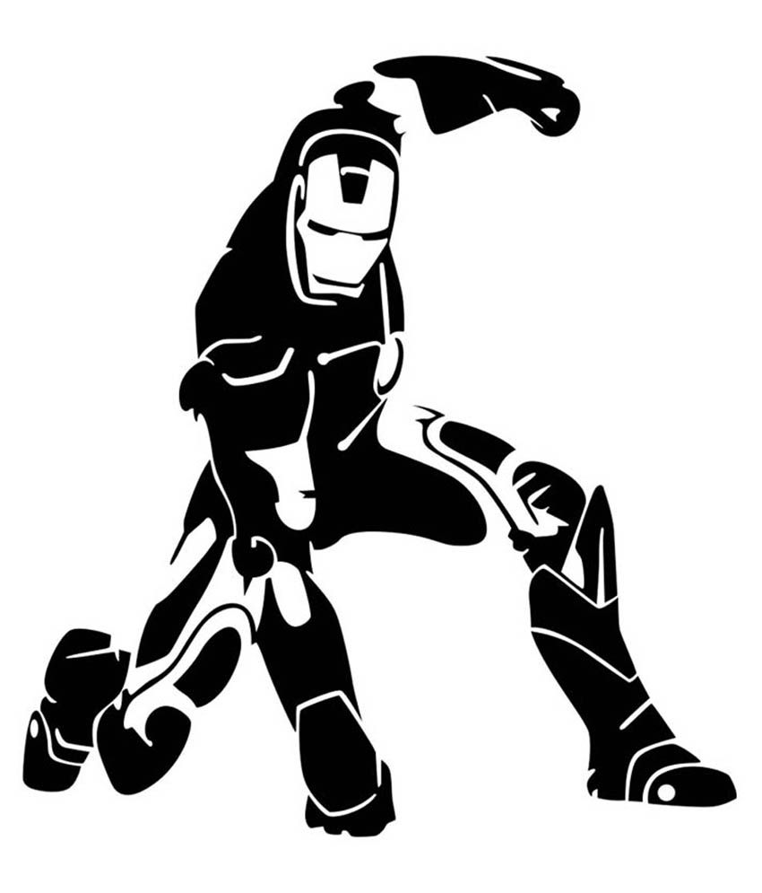 Trends on wall iron man sticker medium buy trends on wall iron man sticker medium online at best prices in india on snapdeal