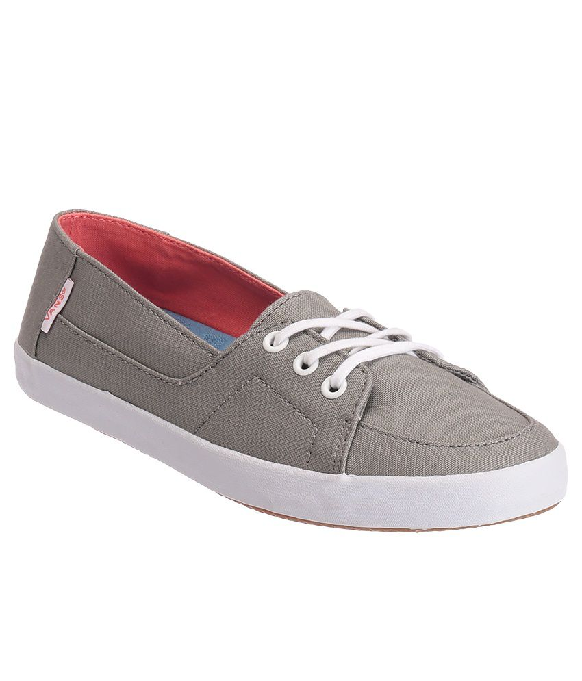 aa069752fa VANS Palisades Vulc Gray Casual Shoes Price in India- Buy VANS Palisades  Vulc Gray Casual Shoes Online at Snapdeal