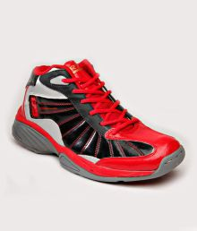 RXN High Pro Red & Black Basketball Shoes