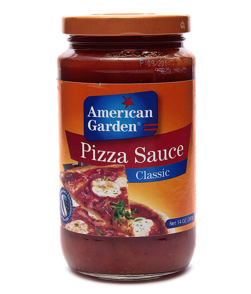 American Garden Pizza Sauce Natural 14oz 396g Buy American Garden Pizza Sauce Natural 14oz 396g At Best Prices In India Snapdeal