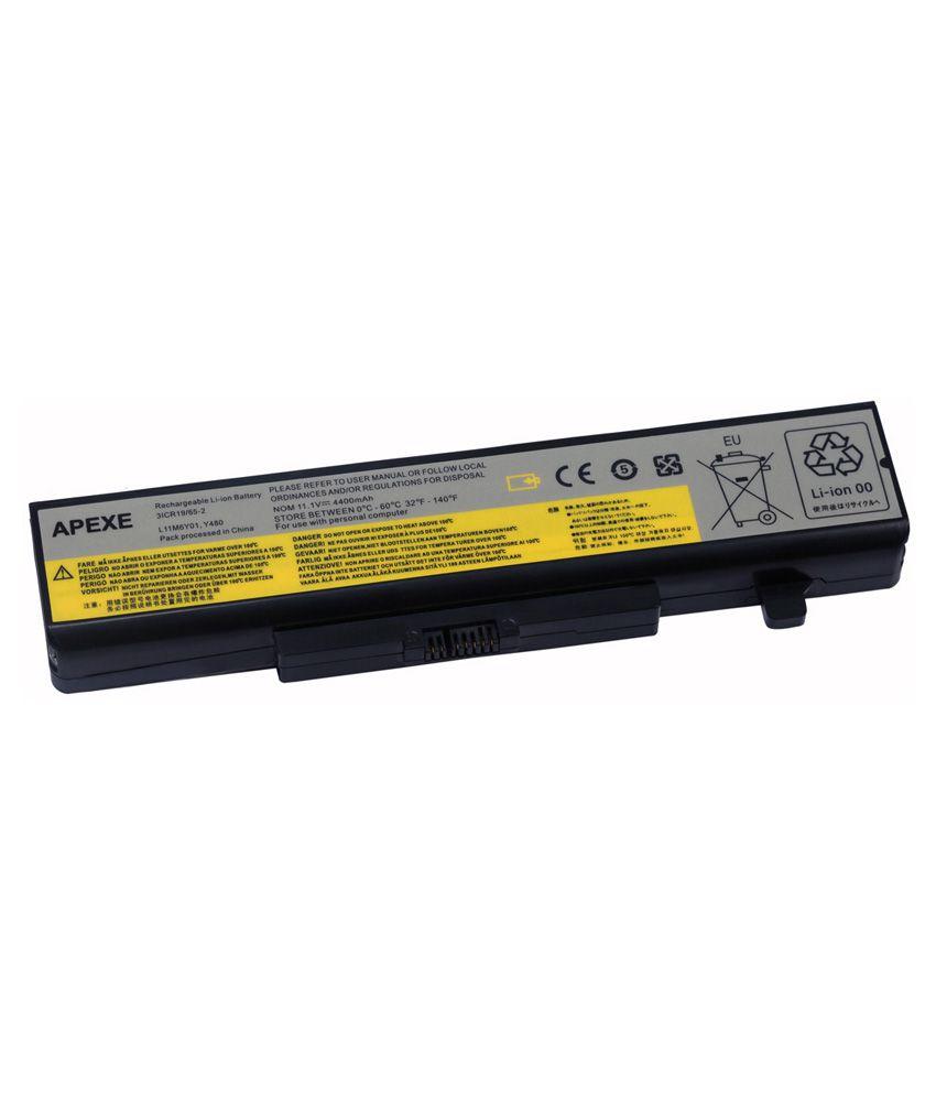Apexe Battery For Lenovo IdeaPad Y480/G580/Y580/B580/Z480