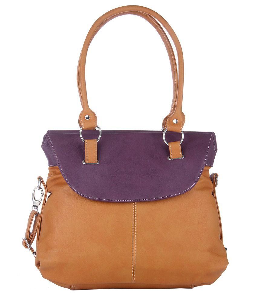Fostelo Tan Shoulder Bags