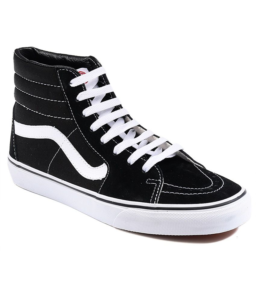 add8558038de Vans Sk8 Hi Black Casual Shoes - Buy Vans Sk8 Hi Black Casual Shoes ...